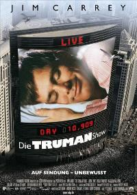 The Truman Show - 11 x 17 Movie Poster - German Style A