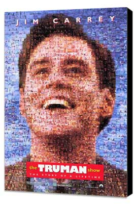 The Truman Show - 27 x 40 Movie Poster - Style B - Museum Wrapped Canvas