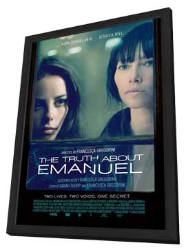 The Truth About Emanuel - 27 x 40 Movie Poster - Style A - in Deluxe Wood Frame
