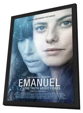 The Truth About Emanuel - 11 x 17 Movie Poster - Style B - in Deluxe Wood Frame