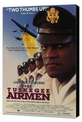 The Tuskegee Airmen - 27 x 40 Movie Poster - Style A - Museum Wrapped Canvas