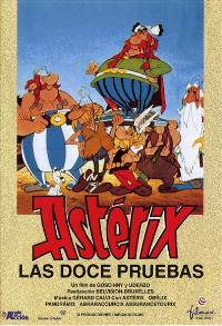 The Twelve Tasks of Asterix - 11 x 17 Movie Poster - Spanish Style A