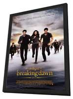 The Twilight Saga: Breaking Dawn - Part 2 - 11 x 17 Movie Poster - Style D - in Deluxe Wood Frame