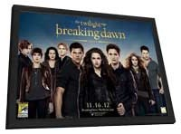 The Twilight Saga: Breaking Dawn - Part 2 - 11 x 17 Movie Poster - Style E - in Deluxe Wood Frame