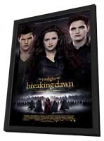 The Twilight Saga: Breaking Dawn - Part 2 - 27 x 40 Movie Poster - Style F - in Deluxe Wood Frame