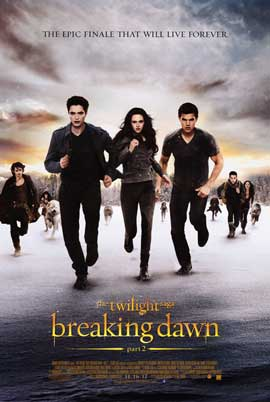 The Twilight Saga: Breaking Dawn - Part 2 - DS 1 Sheet Movie Poster - Style D