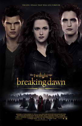 The Twilight Saga: Breaking Dawn - Part 2 - 11 x 17 Movie Poster - Style F
