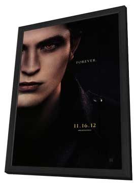 The Twilight Saga: Breaking Dawn - Part 2 - 27 x 40 Movie Poster - Style B - in Deluxe Wood Frame