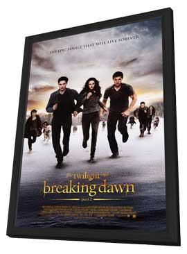 The Twilight Saga: Breaking Dawn - Part 2 - 27 x 40 Movie Poster - Style D - in Deluxe Wood Frame