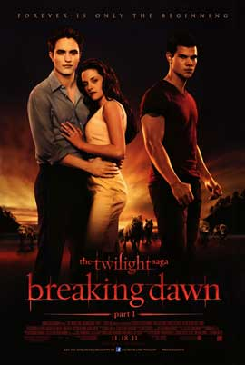 The Twilight Saga: Breaking Dawn - Part 2 - DS 1 Sheet Movie Poster - Style E