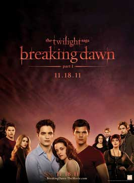 The Twilight Saga: Breaking Dawn - 11 x 17 Movie Poster - Style G