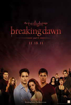 The Twilight Saga: Breaking Dawn - 27 x 40 Movie Poster - Style E