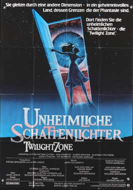 The Twilight Zone - 11 x 17 Movie Poster - German Style A