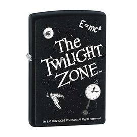 The Twilight Zone - Black Matte Zippo Lighter