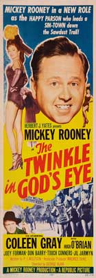 The Twinkle in Gods Eye - 14 x 36 Movie Poster - Insert Style A