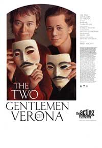 The Two Gentlemen of Verona (Broadway) - 11 x 17 Poster - Style A
