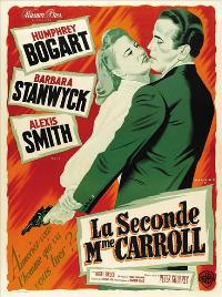 The Two Mrs. Carrolls - 11 x 17 Movie Poster - French Style B