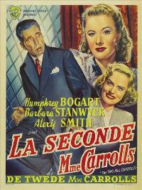 The Two Mrs. Carrolls - 11 x 17 Movie Poster - Belgian Style A
