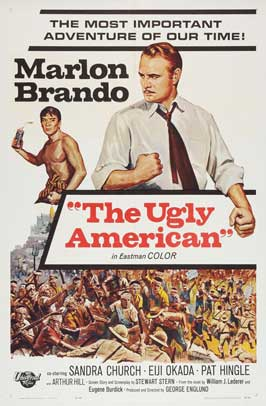 The Ugly American - 11 x 17 Movie Poster - Style C