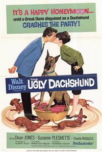 The Ugly Dachshund - 27 x 40 Movie Poster - Style B