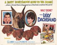 The Ugly Dachshund - 22 x 28 Movie Poster - Half Sheet Style A