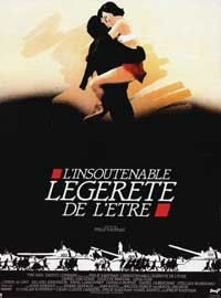 The Unbearable Lightness of Being - 27 x 40 Movie Poster - French Style A