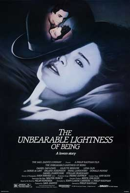 The Unbearable Lightness of Being - 11 x 17 Movie Poster - Style E