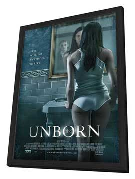 The Unborn - 11 x 17 Movie Poster - Style B - in Deluxe Wood Frame