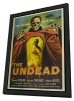 The Undead - 27 x 40 Movie Poster - Style A - in Deluxe Wood Frame