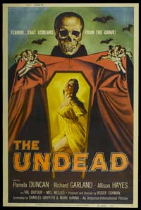 The Undead - 11 x 17 Movie Poster - Style A