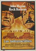 The Undefeated - 27 x 40 Movie Poster - Spanish Style A