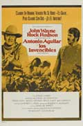 The Undefeated - 27 x 40 Movie Poster - Spanish Style B