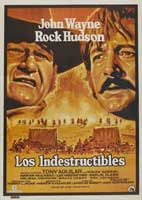 The Undefeated - 11 x 17 Movie Poster - Spanish Style A