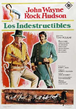 The Undefeated - 11 x 17 Movie Poster - Spanish Style C