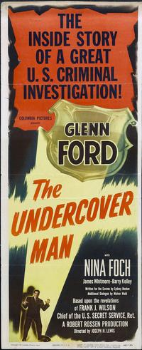 The Undercover Man - 14 x 36 Movie Poster - Insert Style A