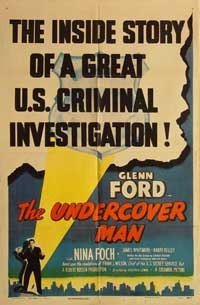 The Undercover Man - 11 x 17 Movie Poster - Style B