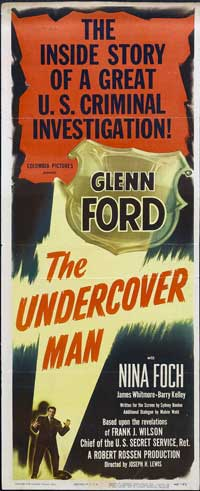 The Undercover Man - 14 x 36 Movie Poster - Insert Style B