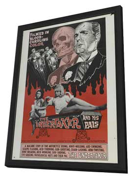 The Undertaker and His Pals - 27 x 40 Movie Poster - Style A - in Deluxe Wood Frame