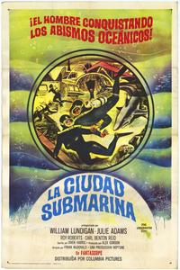 The Underwater City - 11 x 17 Movie Poster - Spanish Style A