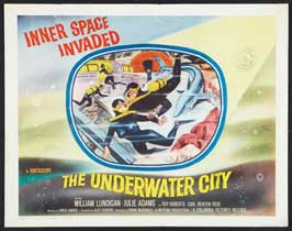 The Underwater City - 11 x 14 Movie Poster - Style B