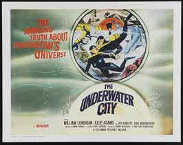 The Underwater City - 22 x 28 Movie Poster - Half Sheet Style A