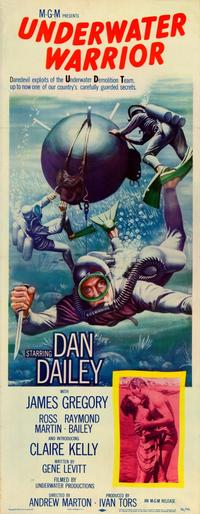 The Underwater Warrior - 14 x 36 Movie Poster - Insert Style A