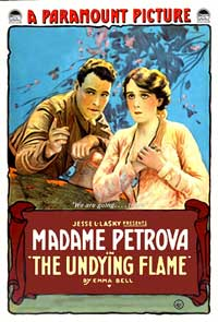 The Undying Flame - 11 x 17 Movie Poster - Style A