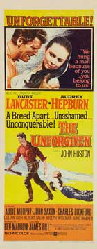 The Unforgiven - 14 x 36 Movie Poster - Insert Style A