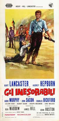 The Unforgiven - 13 x 26 Movie Poster - Italian Style A