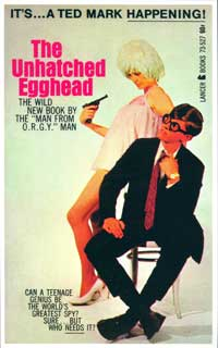 The Unhatched Egghead - 11 x 17 Retro Book Cover Poster