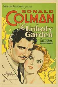 The Unholy Garden - 11 x 17 Movie Poster - Style A