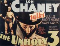 The Unholy Three - 11 x 14 Movie Poster - Style A