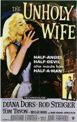 Unholy Wife, The - 11 x 17 Movie Poster - Style A