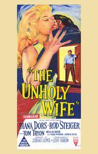 Unholy Wife, The - 27 x 40 Movie Poster - Style B